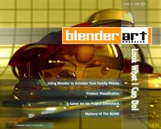 BlenderArt Magazine 21