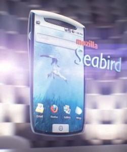 Mozilla Seabird - Concepto de teléfono móvil