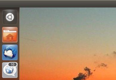 Ubuntu 11.10 Dash button